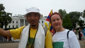 Independence Day-Sangha & Donna@White House